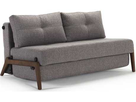 Innovation Cubed Walnut Legs Queen Size Sofa Bed