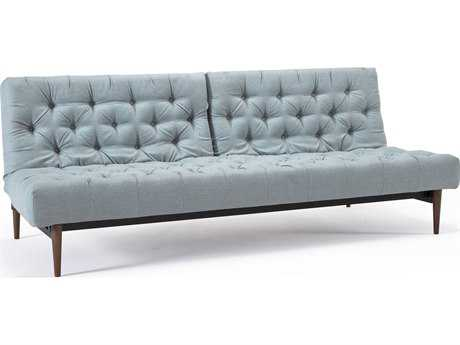 Innovation Dublexo Oldschool Retro Dark Wood Legs Sofa Bed
