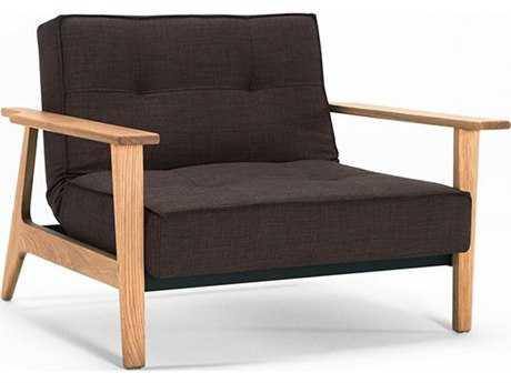 Innovation Splitback Frej Lacquered Oak Leg Accent Chair IV9474101002652