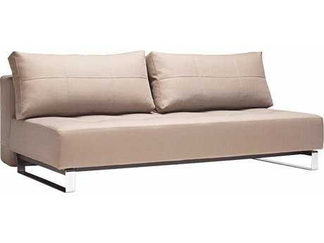 Innovation Supremax Deluxe Excess Lounger Medium Gray Sofa Bed