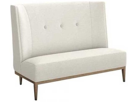 Interlude Home Pearl/ Icy Grey Accent Bench IL1990071