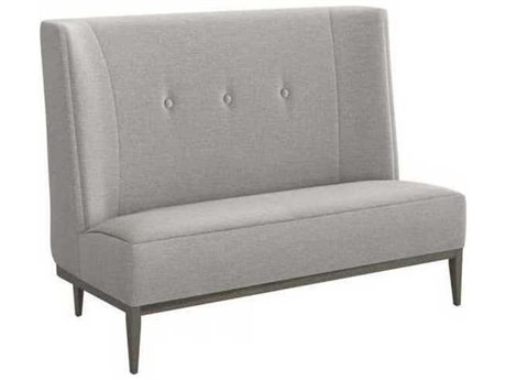 Interlude Home Pure Grey/ Vintage Grey Accent Bench IL1990076
