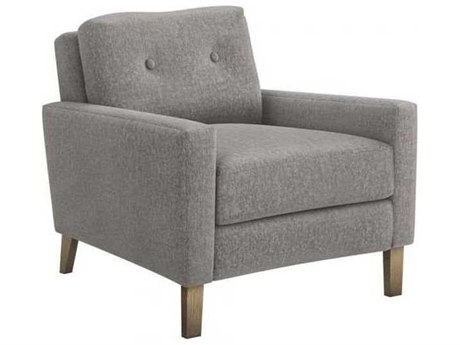 Interlude Home Granite/ Icy Grey Accent Chair