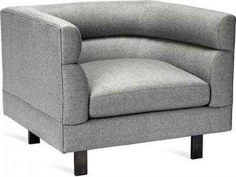 Interlude Home Pure Grey/ Bronze Accent Chair IL1980056