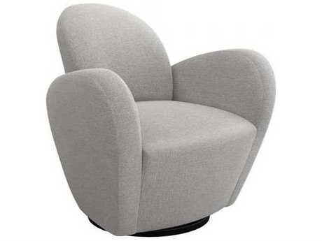 Remarkable Interlude Home Bungalow Swivel Accent Chair Evergreenethics Interior Chair Design Evergreenethicsorg