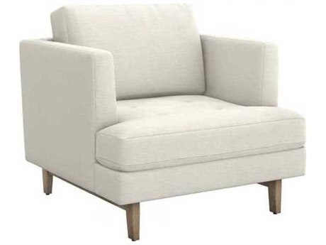 Interlude Home Pearl/ Icy Grey Accent Chair