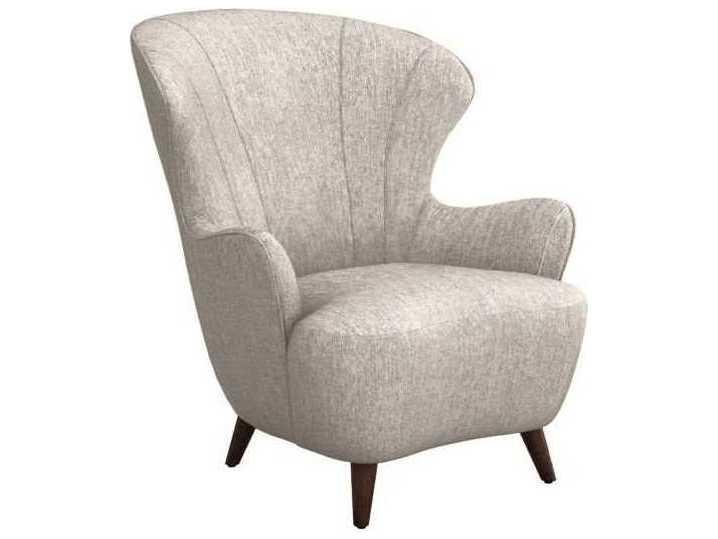 Surprising Interlude Home Bungalow Walnut Accent Chair Evergreenethics Interior Chair Design Evergreenethicsorg