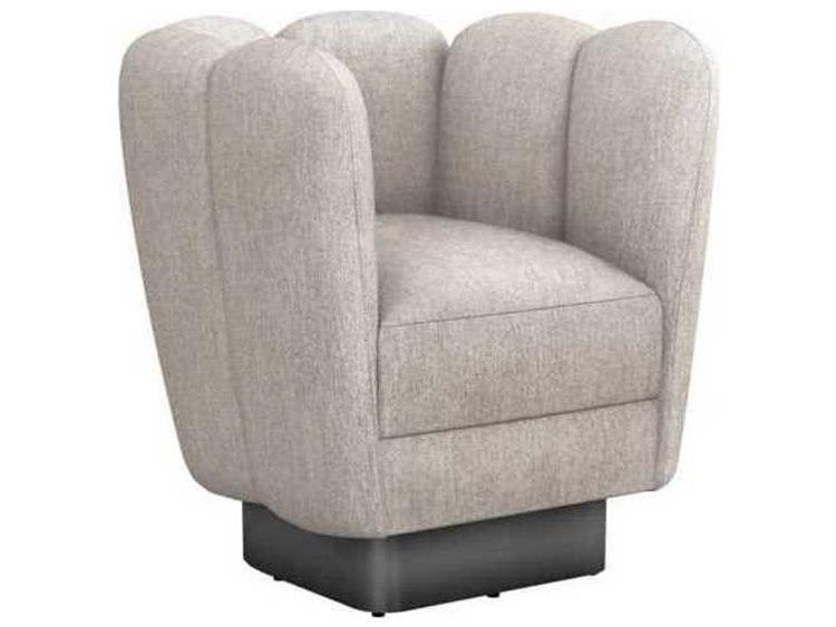 Prime Interlude Home Bungalow Gunmetal Swivel Accent Chair Evergreenethics Interior Chair Design Evergreenethicsorg
