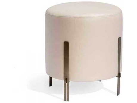 Interlude Home Antique Bronze/ Latte Accent Stool IL175166