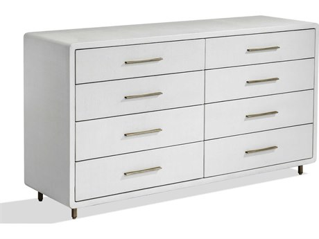 Interlude Home Alma 8 Drawers and up Double Dresser IL188041