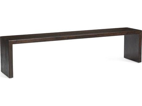 Interlude Home Aspen Dark Vintage Walnut 76'' Wide Accent Bench
