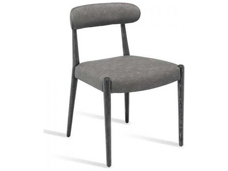 Interlude Home Charcoal Ceruse/ Distressed Side Dining Chair