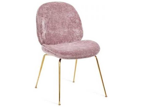 Interlude Home Violet - Rose/ Gold Side Dining Chair IL155133
