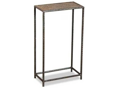Interlude Home Rusty Green 12'' Wide Rectangular End Table