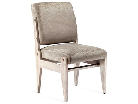 Interlude Home Hale Bungalow / Whitewash Side Dining Chair
