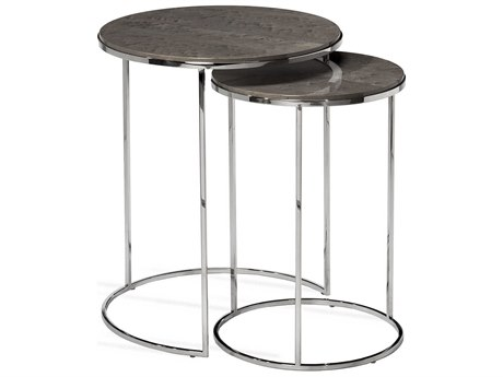 Interlude Home Jax Maple Round Nesting Tables IL125181