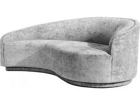 Interlude Home Pure Grey Loveseat Sofa IL1990106