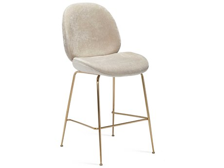 Interlude Home Luna Beige Latte Counter Stool IL145191