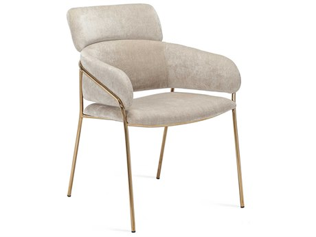 Interlude Home Marino Beige Latte Accent Chair IL145181