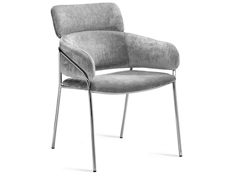 Interlude Home Marino Ocean Grey Accent Chair IL145182