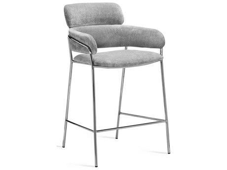 Interlude Home Marino Ocean Grey Bar Stool IL145184