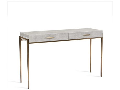 Interlude Home Morand Grey 48'' x 16'' Rectangular Desk / Console IL139020