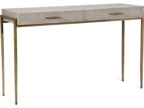 Interlude Home Gold Leaf/ Truffled Taupe Secretary Desk