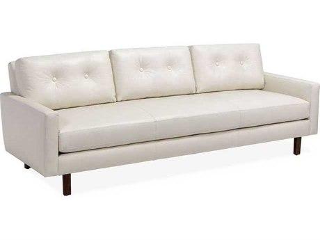 Interlude Home Walnut/ Cream Sofa Couch IL148054