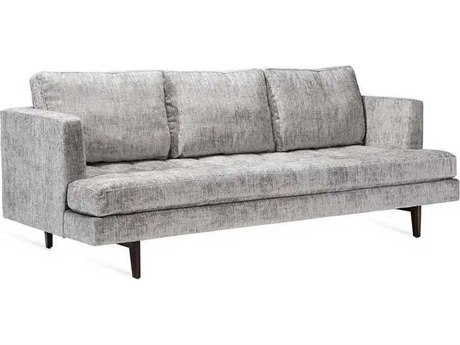 Interlude Home Feather/ Walnut Sofa Couch