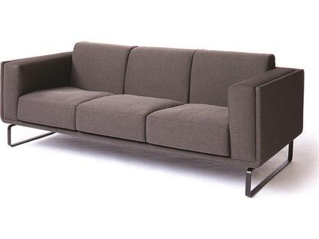 ION Design Atomica Matte Black Sofa IDP25810