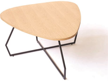 ION Design Carina Natural Oak Top 47.5'' x 37.5'' Coffee Table IDP26141
