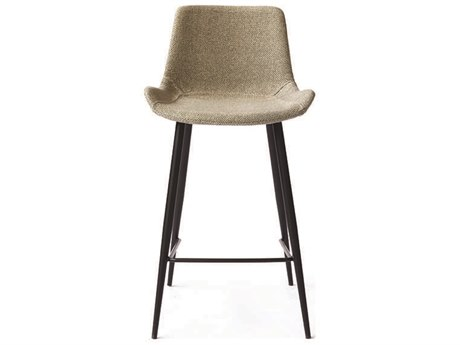 ION Design Hearst Light Grey Seat Counter Stool (Set of 2) IDP25018