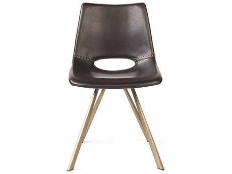 ION Design Hopkins Dark Brown Dining Side Chair (Set of 2)