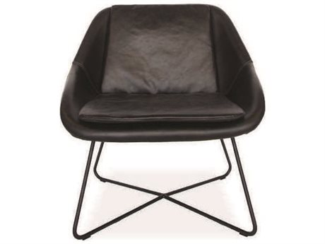 ION Design Jax Matte Black Accent Chair