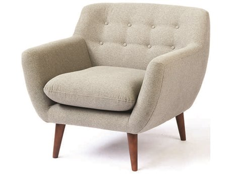 ION Design Karina Sunday Grey Accent Lounge Chair IDP26185
