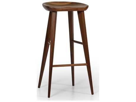 ION Design Taburet Walnut Bar Stool with Matte Finish IDP2384