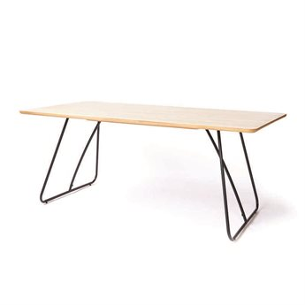 ION Design Viveka Natural Oak 78.75'' x 39.25'' Rectangular Dining Table IDP26140