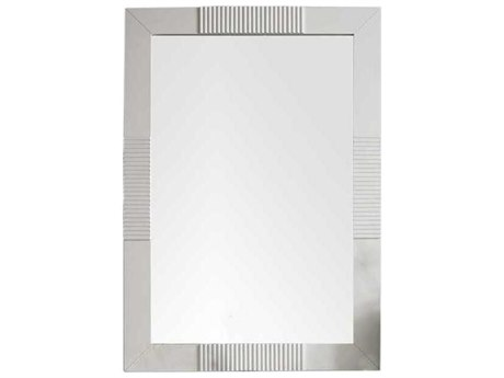 James Martin Furniture Brisbane Bright White Wall Mirror JS516M30BW