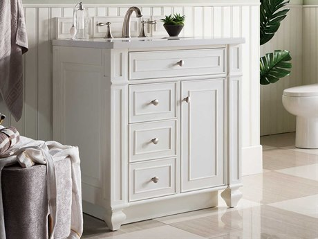 James Martin Furniture Bristol 30'' Wide Vanity JS157V30CWHSW
