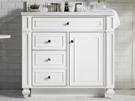James Martin Furniture Bristol 36'' Wide Vanity JS157V36CWH