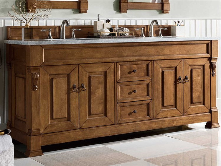James Martin Furniture Brookfield Country Oak 71 Wide Double Vanity Js1471145771