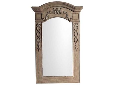 James Martin Furniture European Traditions Empire Gray Wall Mirror