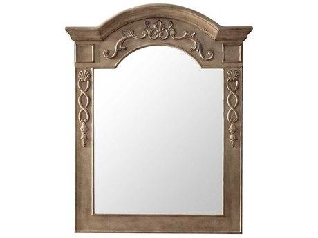 James Martin Furniture European Traditions Empire Gray Wall Mirror JS207ETM32EG