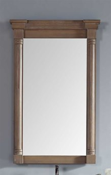 James Martin Furniture Savannah/providence Driftwood Wall Mirror