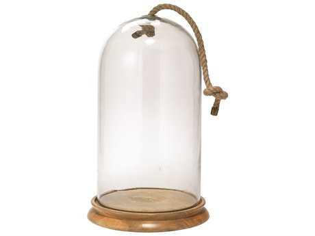 Jamie Young Company Bell Natural Wood Large Jar JYC7BELLLGNA
