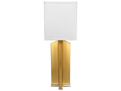 Jamie Young Company Brass Buffet Lamp JYC9QUADBRSQ131