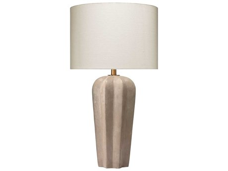 Jamie Young Company Grey Cement One-Light Buffet Lamp JYC9REGALTLGR