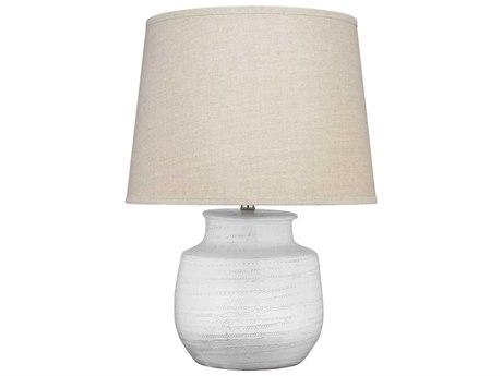 Jamie Young Company White Buffet Lamp JYC9TRACESMTLWH