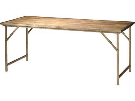 Jamie Young Company Campaign 72'' x 30'' Rectangular Natural Wood Dining Table JYC20CAMPDTNA