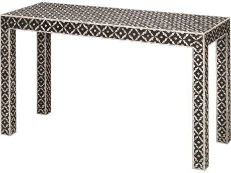 Jamie Young Company Evelyn Mother of Pearl 48''L x 18''W Rectangular Console Table JYC20EVELCOMOP